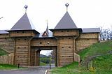 Древние ворота в Дмитровском кремле