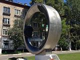 Памятник Ю.Гагарину на одноименной улице