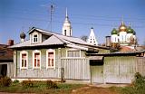 Вид на Коломенский храм