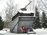 Памятник танку-герою