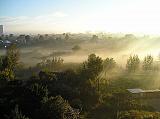 Туманное утро близ Фрязино