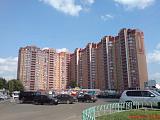 Новые дома в центре Троицка