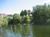 Озеро у фабрики