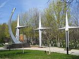 Памятник Герману Титову