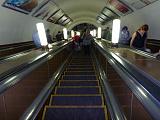 На эскалатере Московского метро...