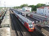 Поезда на платформе