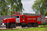 Пожарные г.Луховицы- всегда на страже