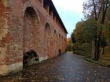 У стены в Лопатинском саду. Октябрь 2017