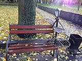 Авторские кованые скамейки (Лопатинский сад)