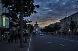 Большая Московская улица вечером