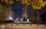 Вид ночного Воронежа