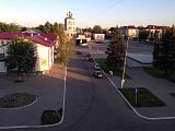 Смоленская область. Вид на площадь в Гагарине