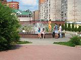 Фонтан на ул.Ленина