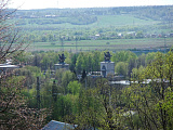 Вид на город с Дмитровского шоссе