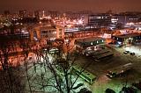ЖД вокзал ночью