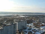 Вид на город с высока
