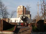 Памятник журавлям