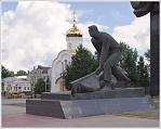 Памятник рабочему в Иваново