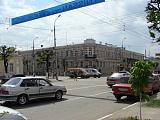 На центральной улице города
