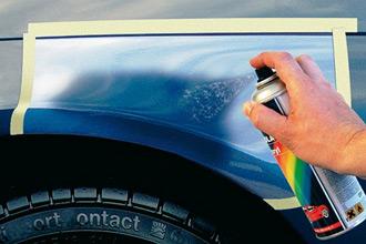 Ремонтная подкраска царапин и сколов на кузове авто