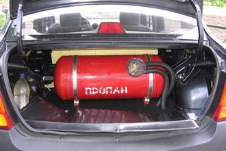 Природный газ в качестве автомобильного топлива