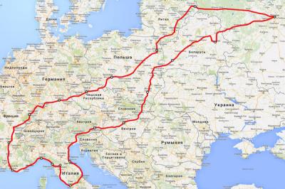Какие документы необходимы в путешествии по Европе если ехать на своем автомобиле?