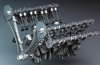 Двигатели DOHC. Конструктивные особенности
