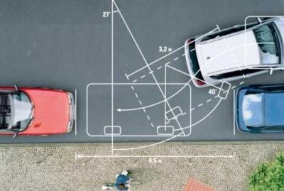 Как правильно делать параллельную парковку