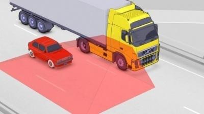 Перестроение перед грузовиком или фурой